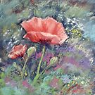Poppies I by Redbarron