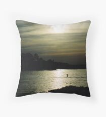 Ponderosa Sunset Throw Pillow