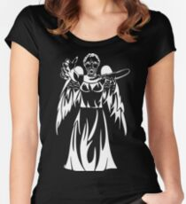 Can you see them in the dark? Women's Fitted Scoop T-Shirt