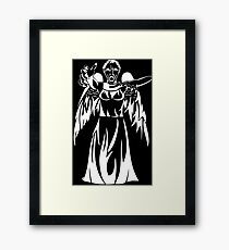 Can you see them in the dark? Framed Print