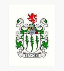 Stanger Coat of Arms Art Print