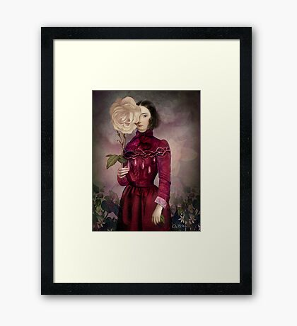 The Intriguer Framed Print
