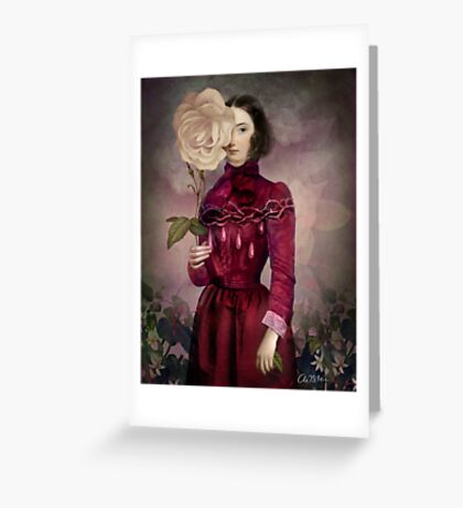 The Intriguer Greeting Card