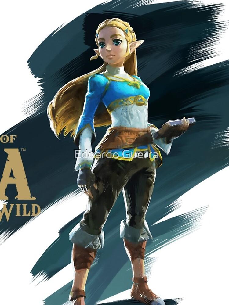 Zelda (the legend of Zelda breath of the wild) von edonim