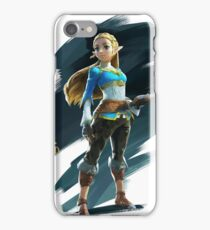 Zelda (the legend of Zelda breath of the wild) iPhone Case/Skin