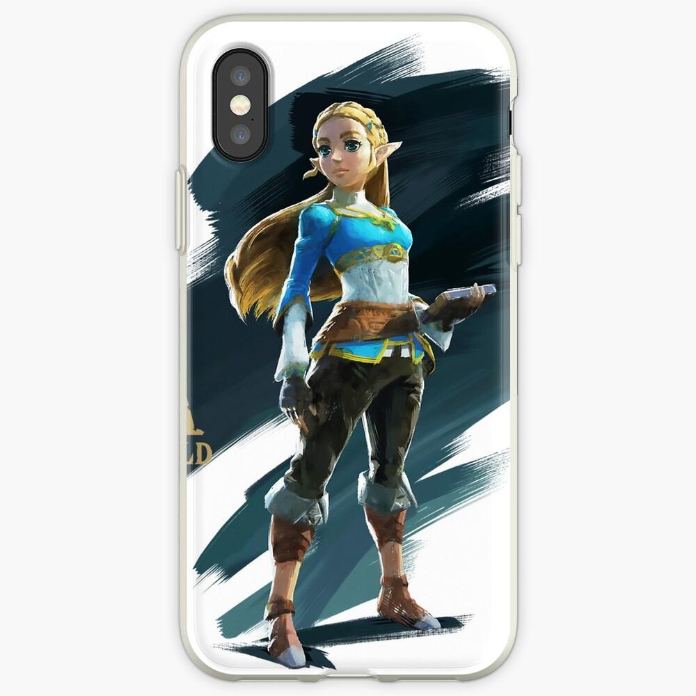 Zelda (the legend of Zelda breath of the wild) iPhone-Hüllen & Cover