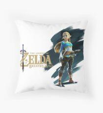 Zelda (the legend of Zelda breath of the wild) Throw Pillow