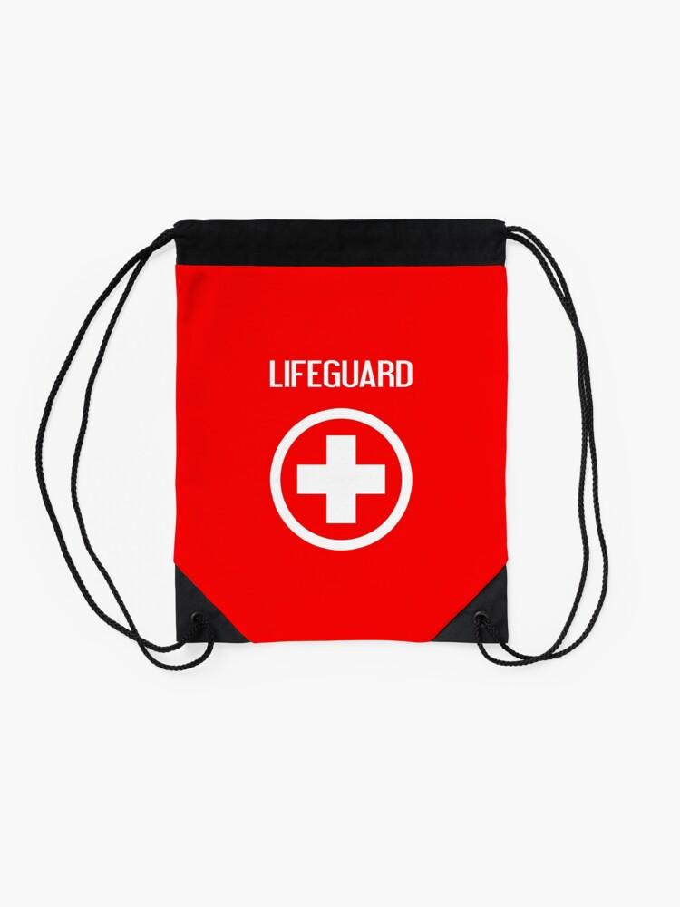 Alternate view of Lifeguard: Lifeguard Drawstring Bag