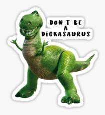 Dickasaurus Sticker