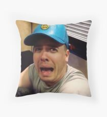 Cody Screaming Throw Pillow