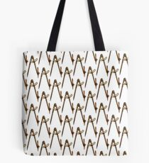 Iron Compass Front Pattern Tote Bag