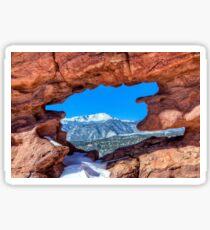 Garden of the Gods Colorado Sticker