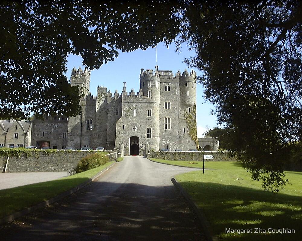Kilkea Castle, Castledermot, Ireland by Margaret Zita Coughlan