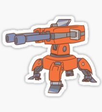 Torbjorn's Level 2 Turret Sticker