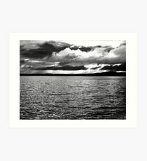 Angry Sky - Inch Island, Donegal, Ireland Art Print