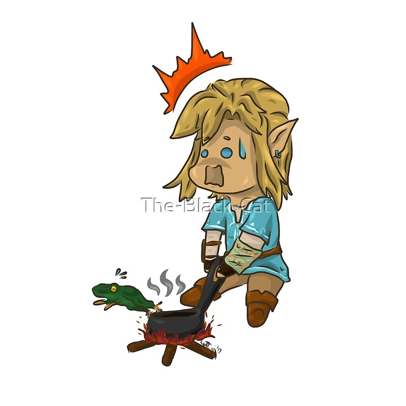 Quot Chibi Botw Link Trying To Cook Quot Canvas Prints By The