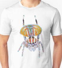 Peacock Spider (Maratus volans) Large Design Unisex T-Shirt