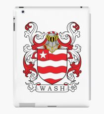 Wash Coat of Arms iPad Case/Skin