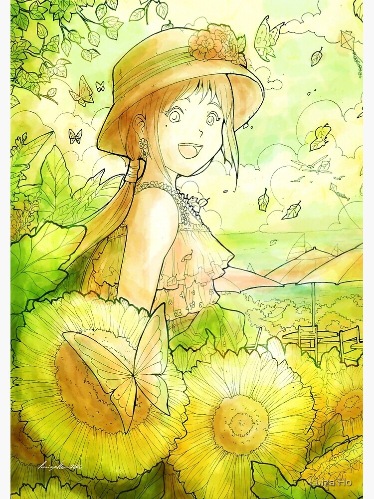 L'Été - Summer by teapotsandhats