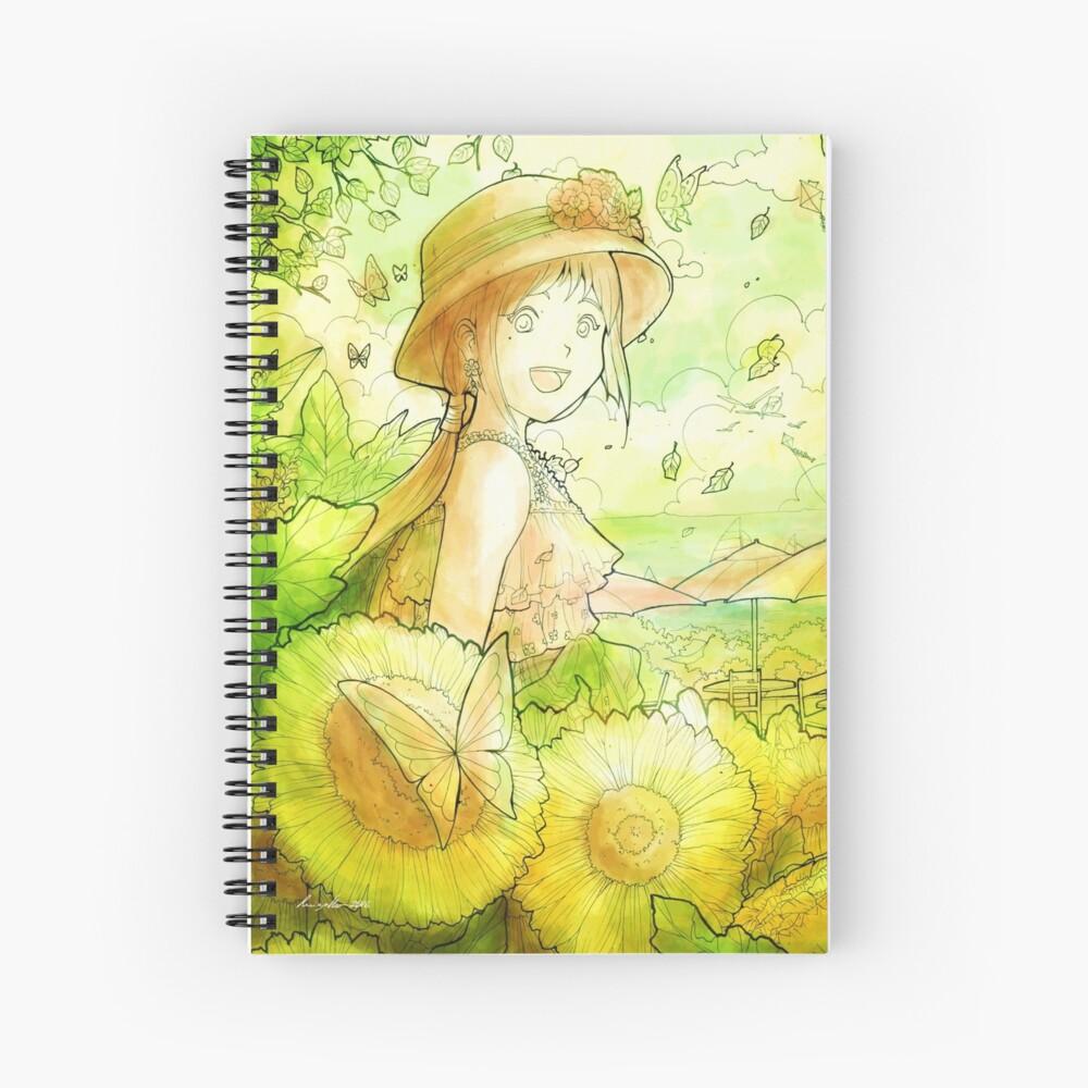 L'Été - Summer Spiral Notebook