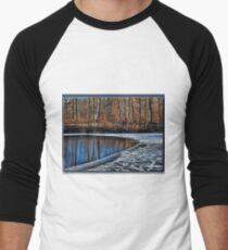 Freezing Over Men's Baseball ¾ T-Shirt