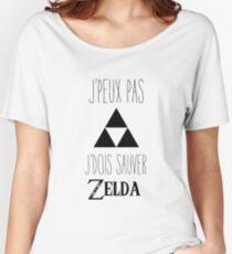 J'peux pas j'dois sauver Zelda! Women's Relaxed Fit T-Shirt