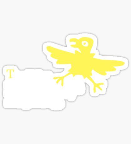 The chicken came first Sticker