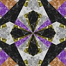 Marble Geometric Background G441 by MEDUSA GraphicART
