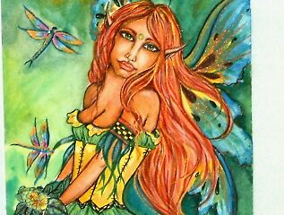 green fairy by artwoman3571
