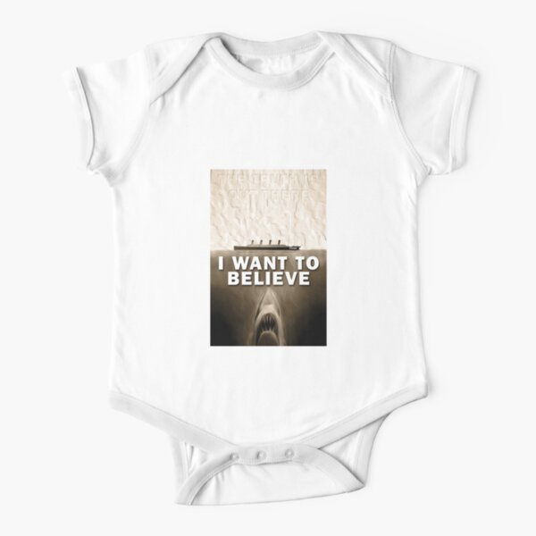 Titanic Truth Short Sleeve Baby One-Piece