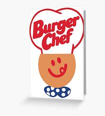 Burger Chef Greeting Card