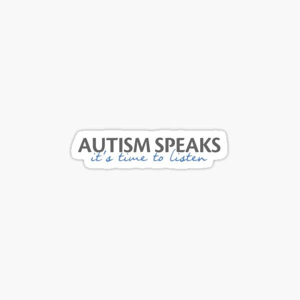 autism speaks Sticker