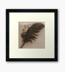Write me a love song Framed Print