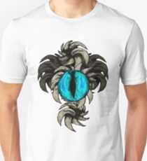 Horned Eye Blue Unisex T-Shirt
