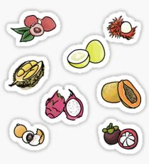 Asian Fruits 2016 Sticker