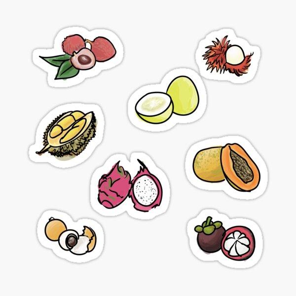 Asian Fruits 2016 Sticker