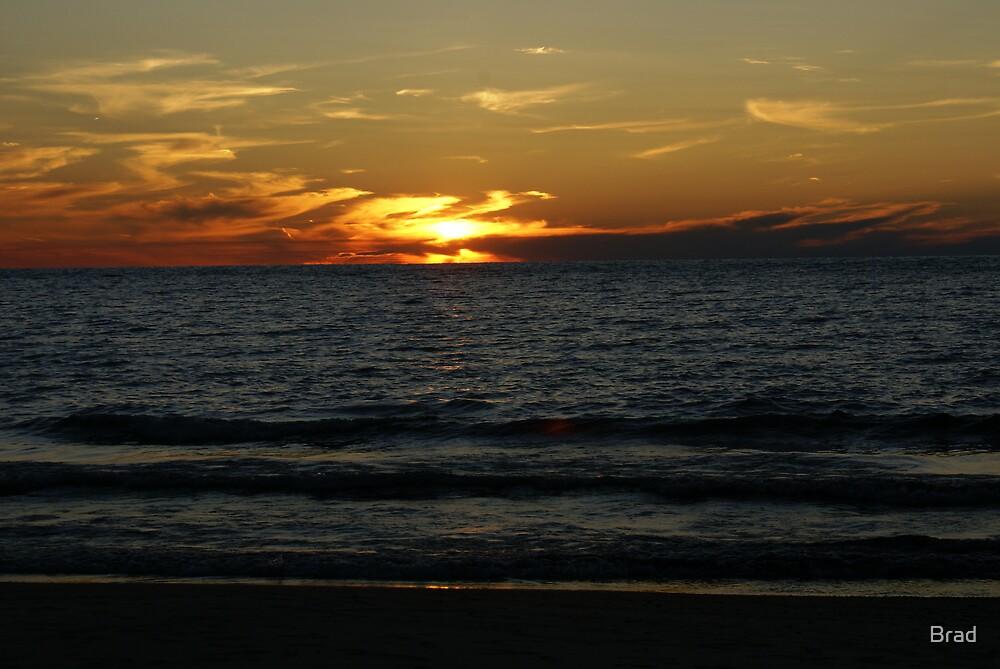 Lake Michigan Sunset by Brad
