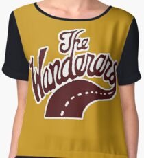 Wanderers forever! Chiffon Top