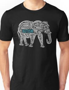 Autism Awareness Elephant Unisex T-Shirt
