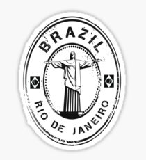Brazil Stamp Sticker