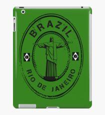 Brazil Stamp iPad Case/Skin