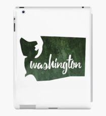 Washington [dark green] iPad Case/Skin
