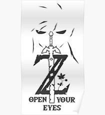 Breath of The Wild: Link's Revenge (Black) Poster