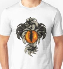 Horned Eye orange Unisex T-Shirt