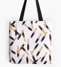 Lip Collage Tote Bag