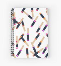 Lip Collage Spiral Notebook