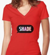 Shade Women's Fitted V-Neck T-Shirt