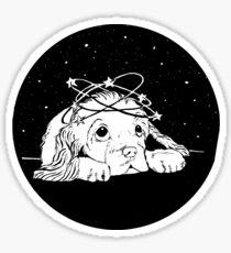 Space Puppy Sticker