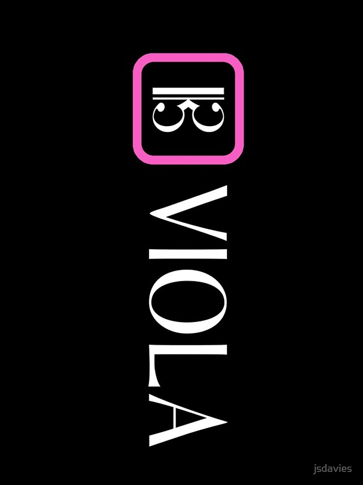 Viola: Alto Clef (Pink) by MilitaryCandA