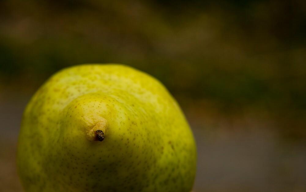 Pear by monicamakesthings